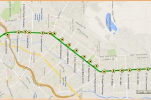 BRT Green Line Karachi