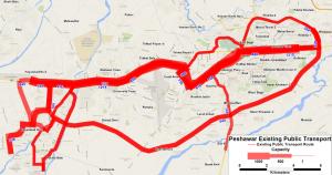 Bus Rapid Transit, Red Line, University Road, Karachi Think Transportation