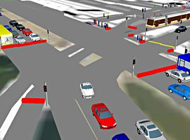 Traffic Analysis DHA Intersection