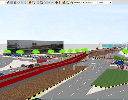 Bus Rapid Transit, Green Line, University Road, Karachi Think Transportation