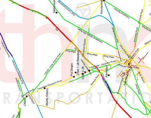 Validation of Traffic Demand of Faisalabad Chiniot Road Think Transportation