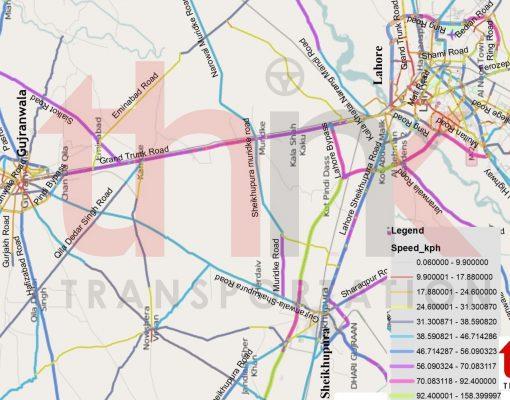 Validation of Traffic Demand of Sheikhupura Gujranwala Road Think Transportation