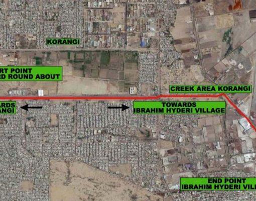 Traffic Study of Coast Guard Intersection Road, Korangi, Karachi