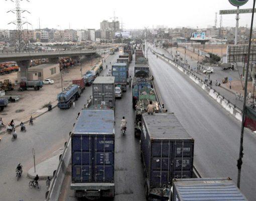 Traffic Study of Landhi Industrial Area Road, Karachi