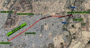 Traffic Study of Malir Saudabad Road