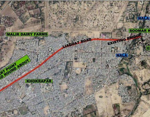 Traffic Study of Malir Saudabad Road