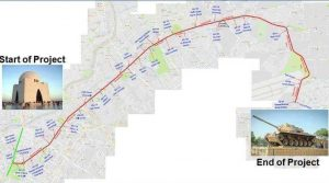 Traffic Study of Redline BRT University Road Karachi