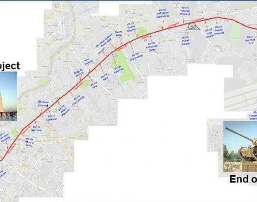Traffic Study of Redline BRT University Road Karachi